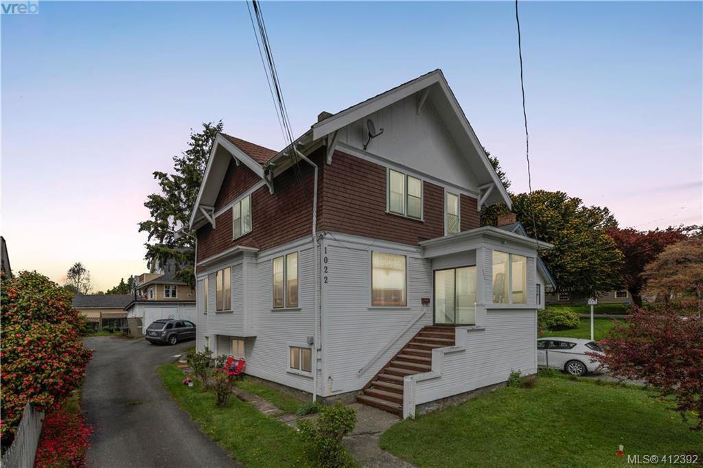 Main Photo: 1022 Summit Avenue in VICTORIA: Vi Mayfair Single Family Detached for sale (Victoria)  : MLS®# 412392