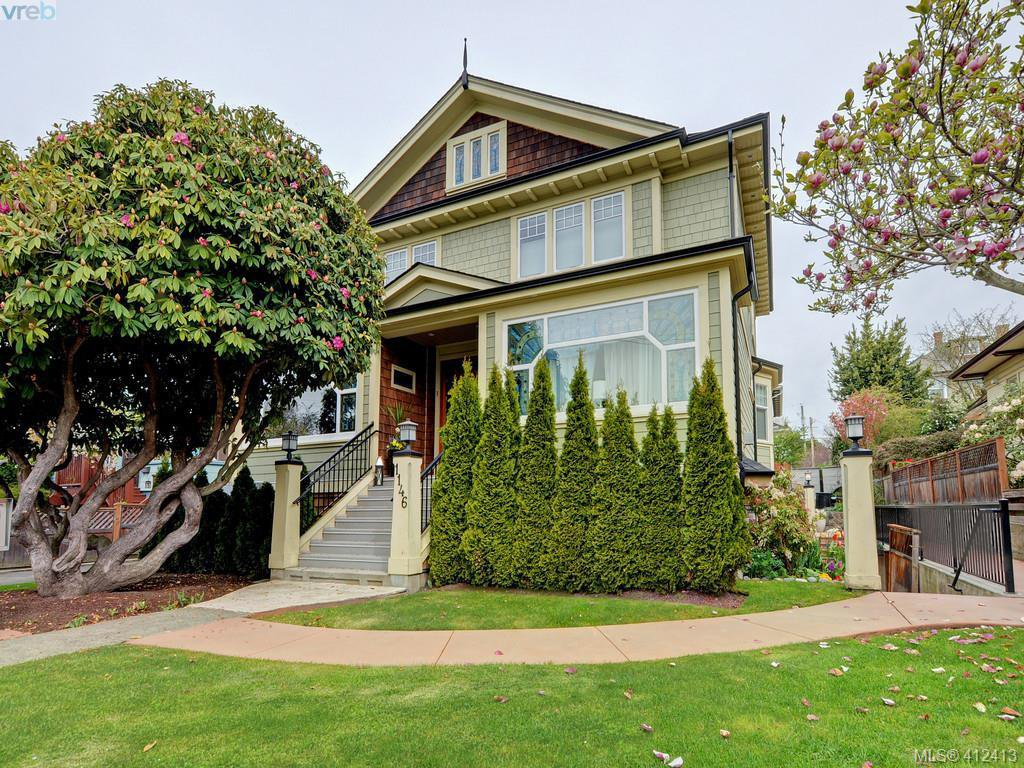 Main Photo: 2 1146 Richardson Street in VICTORIA: Vi Fairfield West Condo Apartment for sale (Victoria)  : MLS®# 412413