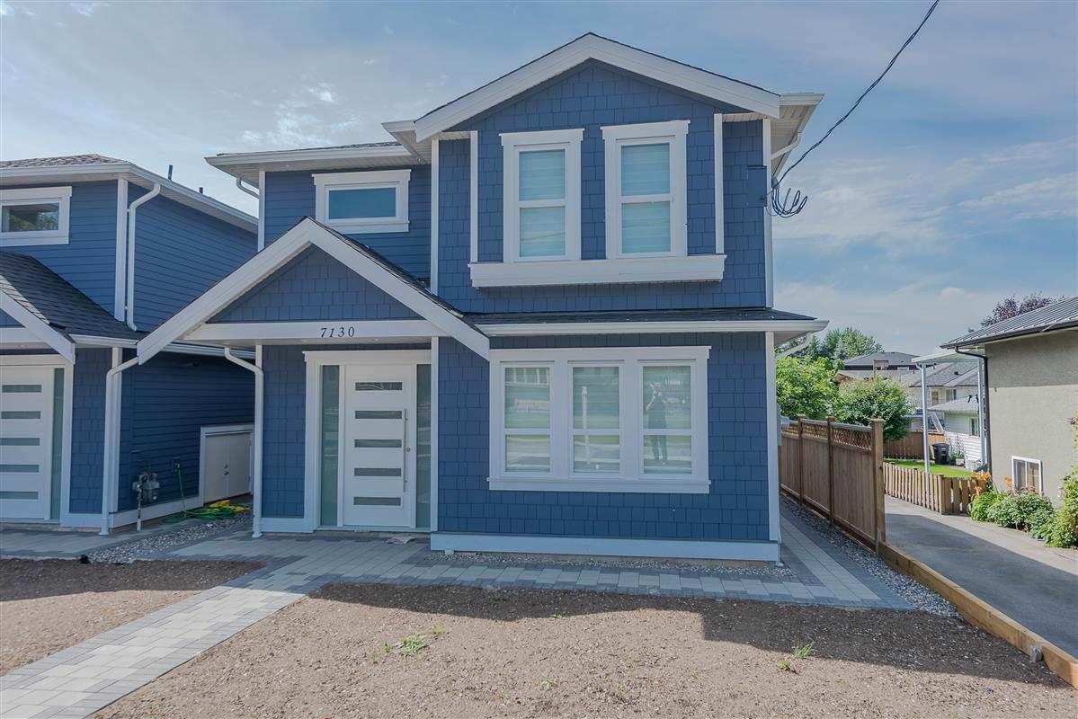 Main Photo: 7130 KITCHENER Street in Burnaby: Sperling-Duthie 1/2 Duplex for sale (Burnaby North)  : MLS®# R2488051