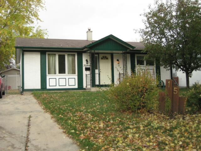 Main Photo: 15 Summerfield Way in WINNIPEG: North Kildonan Residential for sale (North East Winnipeg)  : MLS®# 1120879