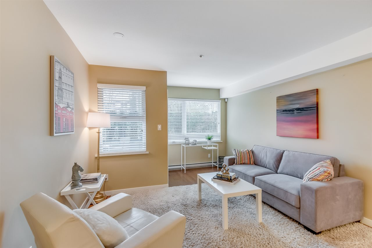 """Main Photo: 111 2373 ATKINS Avenue in Port Coquitlam: Central Pt Coquitlam Condo for sale in """"Carmandy"""" : MLS®# R2146950"""