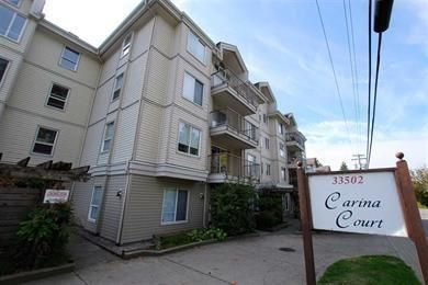 "Main Photo: 205 33502 GEORGE FERGUSON Way in Abbotsford: Central Abbotsford Condo for sale in ""Carina Court"" : MLS®# R2215286"