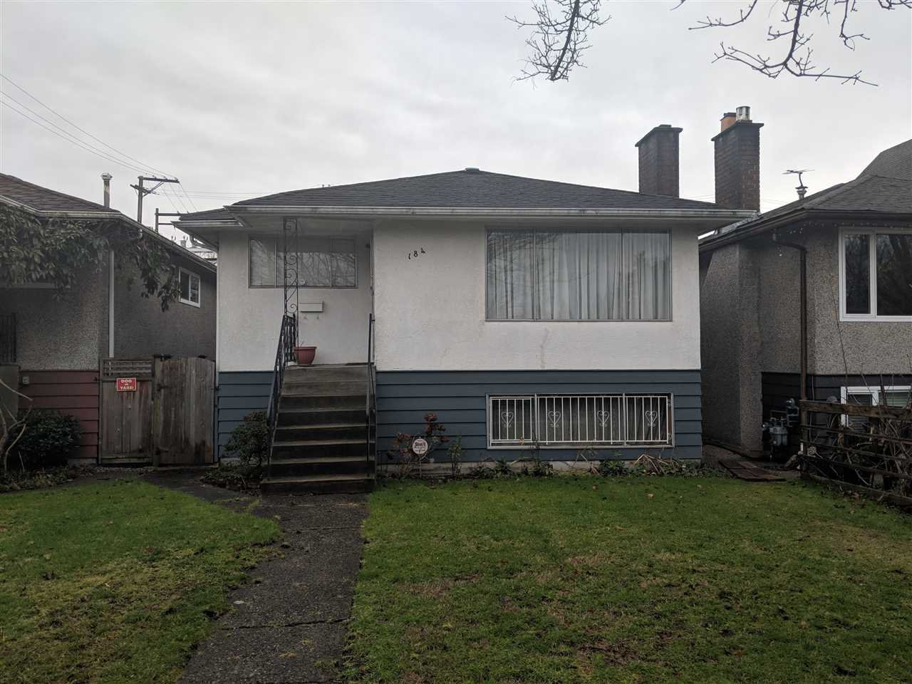 Main Photo: 184 E 19TH Avenue in Vancouver: Main House for sale (Vancouver East)  : MLS®# R2332497