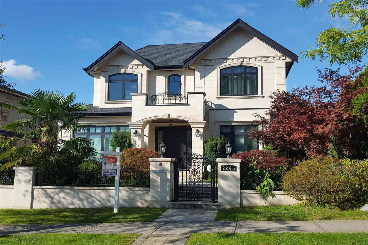 Photo 1: Photos: 2245 W 21ST Avenue in Vancouver: Arbutus House for sale (Vancouver West)  : MLS®# R2348746