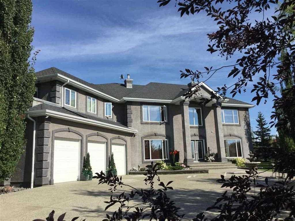 Main Photo: 74 53302 Rge Rd 261: Rural Parkland County House for sale : MLS®# E4155444