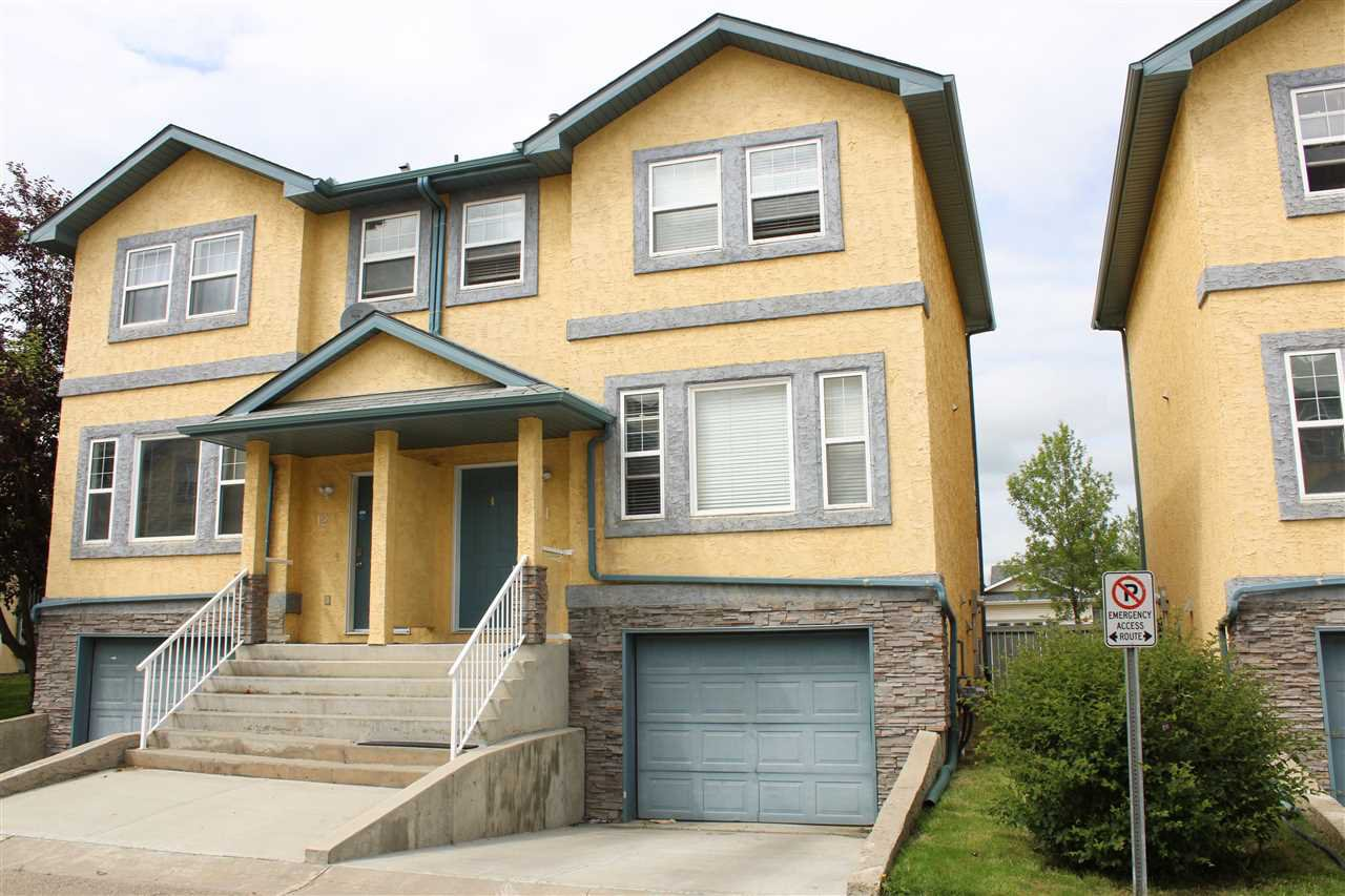 Main Photo: 16777 91 Street in Edmonton: Zone 28 Townhouse for sale : MLS®# E4164996