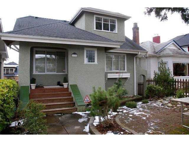 "Main Photo: 4168 W 15TH Avenue in Vancouver: Point Grey House for sale in ""POINT GREY"" (Vancouver West)  : MLS®# V873307"