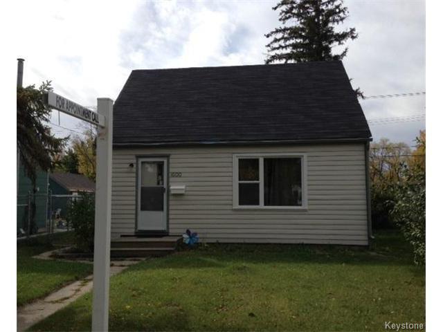 Main Photo: 1600 MANITOBA Avenue in WINNIPEG: North End Residential for sale (North West Winnipeg)  : MLS®# 1321998