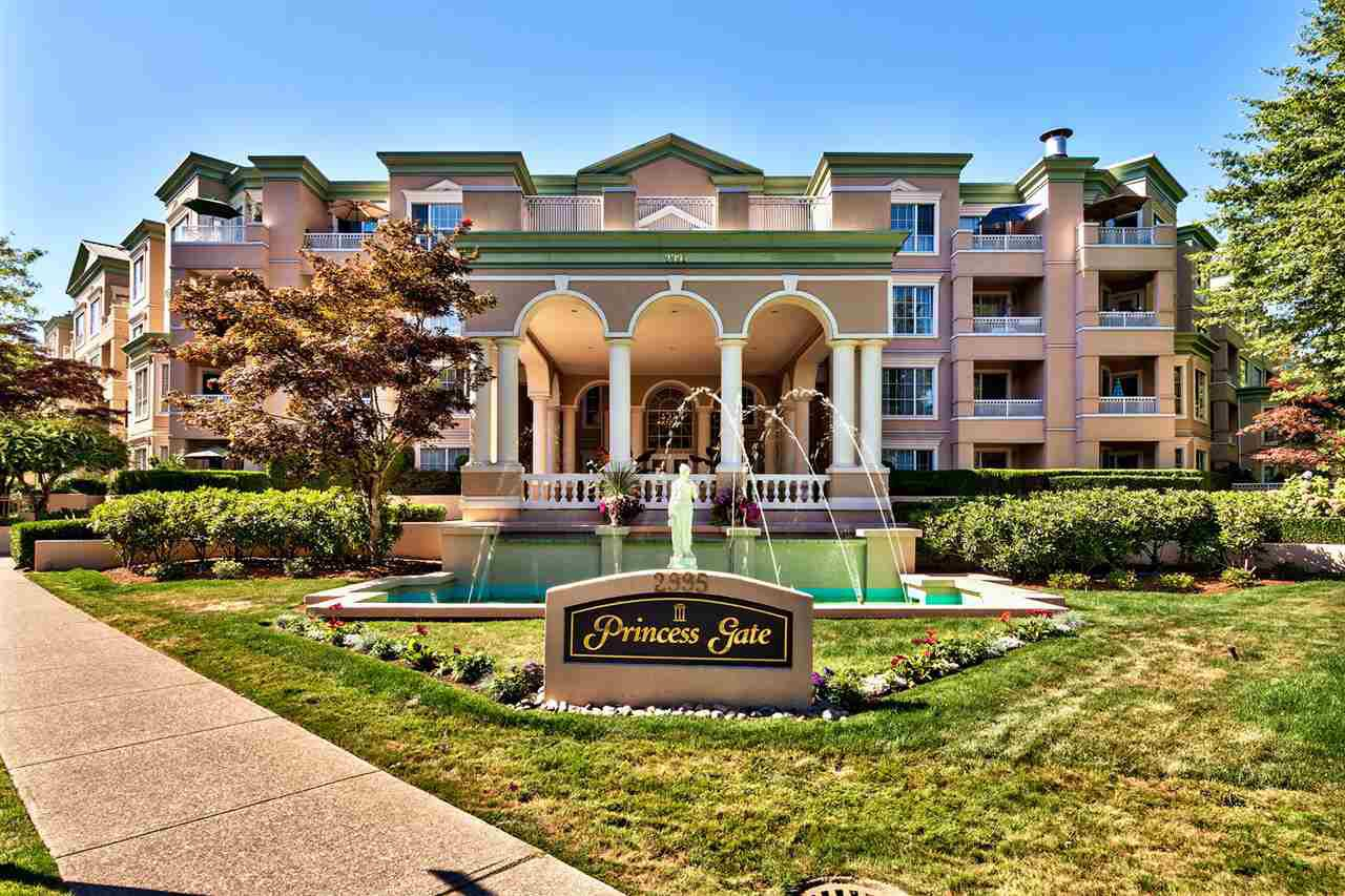 "Main Photo: 314 2995 PRINCESS Crescent in Coquitlam: Canyon Springs Condo for sale in ""PRINCESS GATE"" : MLS®# R2101405"