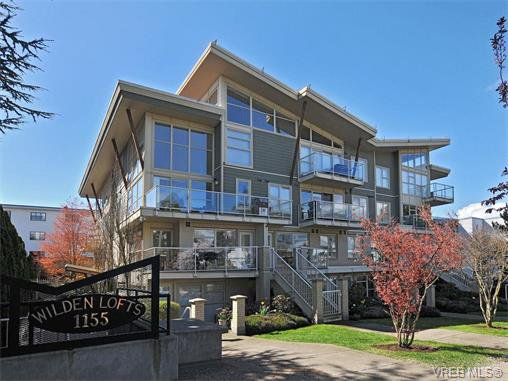 Main Photo: 201 1155 Yates St in VICTORIA: Vi Downtown Condo for sale (Victoria)  : MLS®# 750454