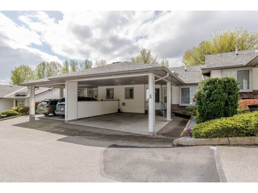 "Main Photo: 5 3351 HORN Street in Abbotsford: Central Abbotsford Townhouse for sale in ""Evansbrook Estates"" : MLS®# R2160058"
