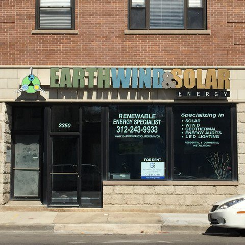 Main Photo: 2350 Grand Avenue in CHICAGO: CHI - West Town Retail / Stores for rent (Chicago West)  : MLS®# 09668479
