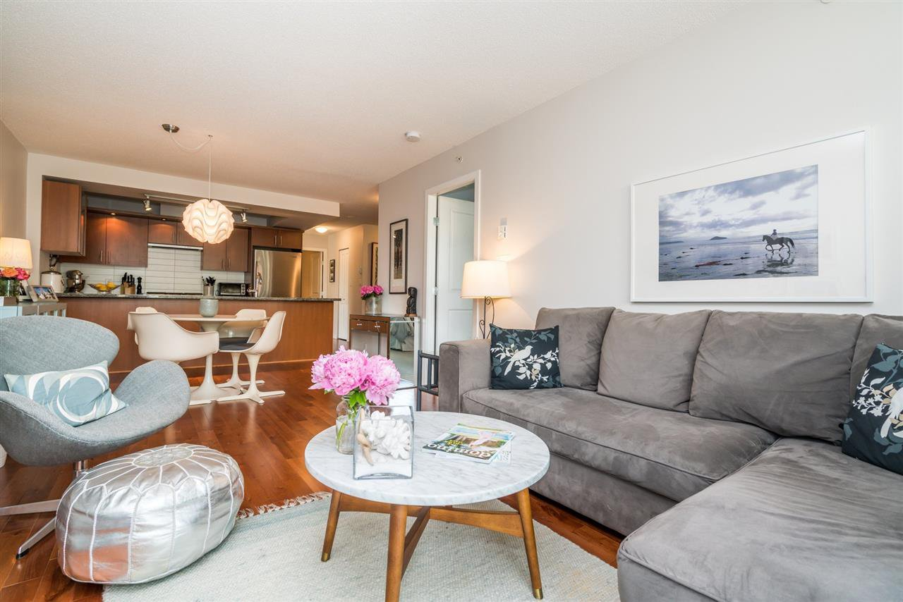 "Main Photo: 306 1650 W 7TH Avenue in Vancouver: Fairview VW Condo for sale in ""THE VIRTU"" (Vancouver West)  : MLS®# R2266835"