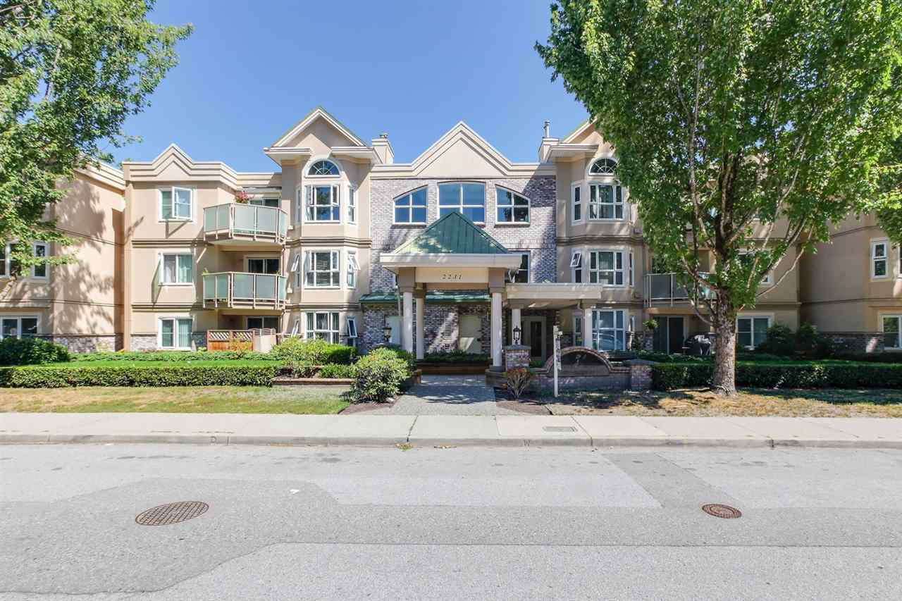 Main Photo: 211 2231 WELCHER Avenue in Port Coquitlam: Central Pt Coquitlam Condo for sale : MLS®# R2335263