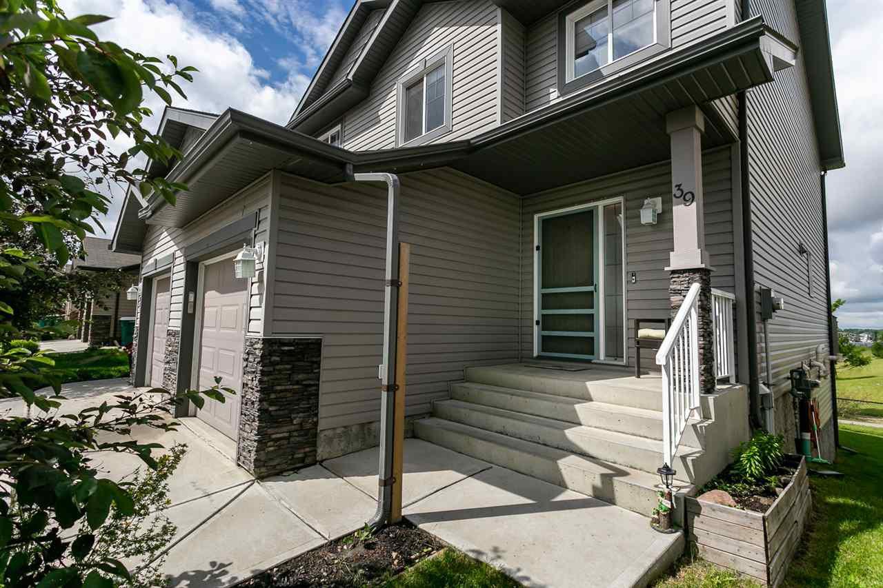 Main Photo: 39 85 Spruce Village Drive: Spruce Grove House Half Duplex for sale : MLS®# E4163567