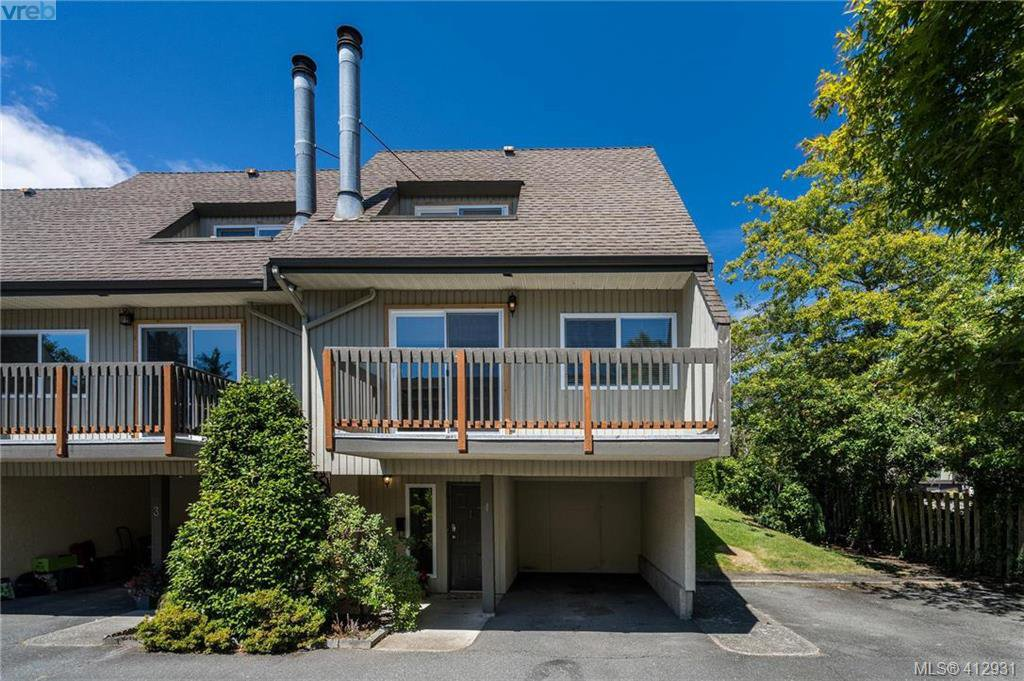Main Photo: 4 3981 Saanich Road in VICTORIA: SE Quadra Row/Townhouse for sale (Saanich East)  : MLS®# 412931