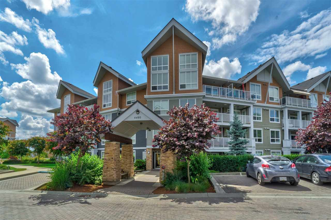 Main Photo: 318 6480 194 Street in Surrey: Clayton Condo for sale (Cloverdale)  : MLS®# R2386047
