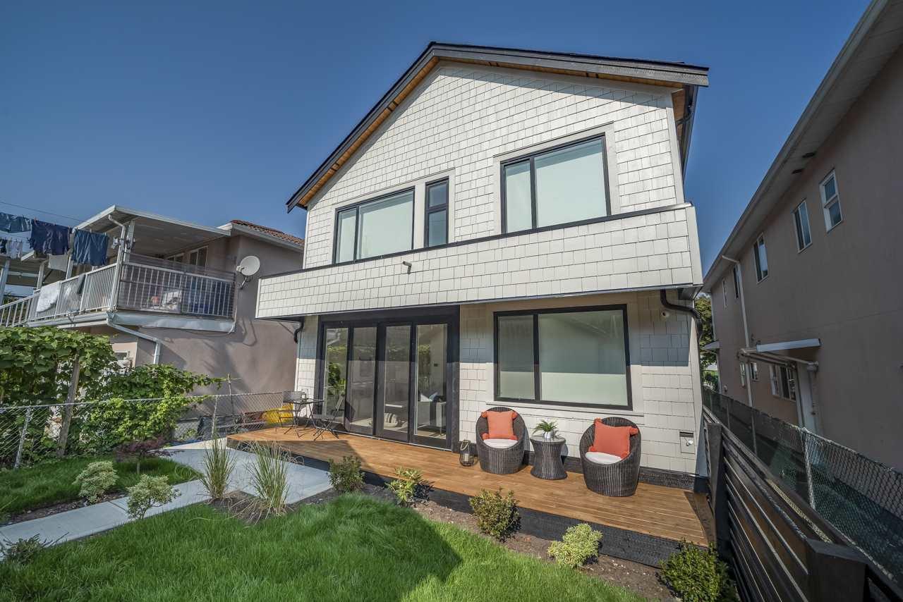 Main Photo: 2236 ADANAC Street in Vancouver: Hastings 1/2 Duplex for sale (Vancouver East)  : MLS®# R2505632
