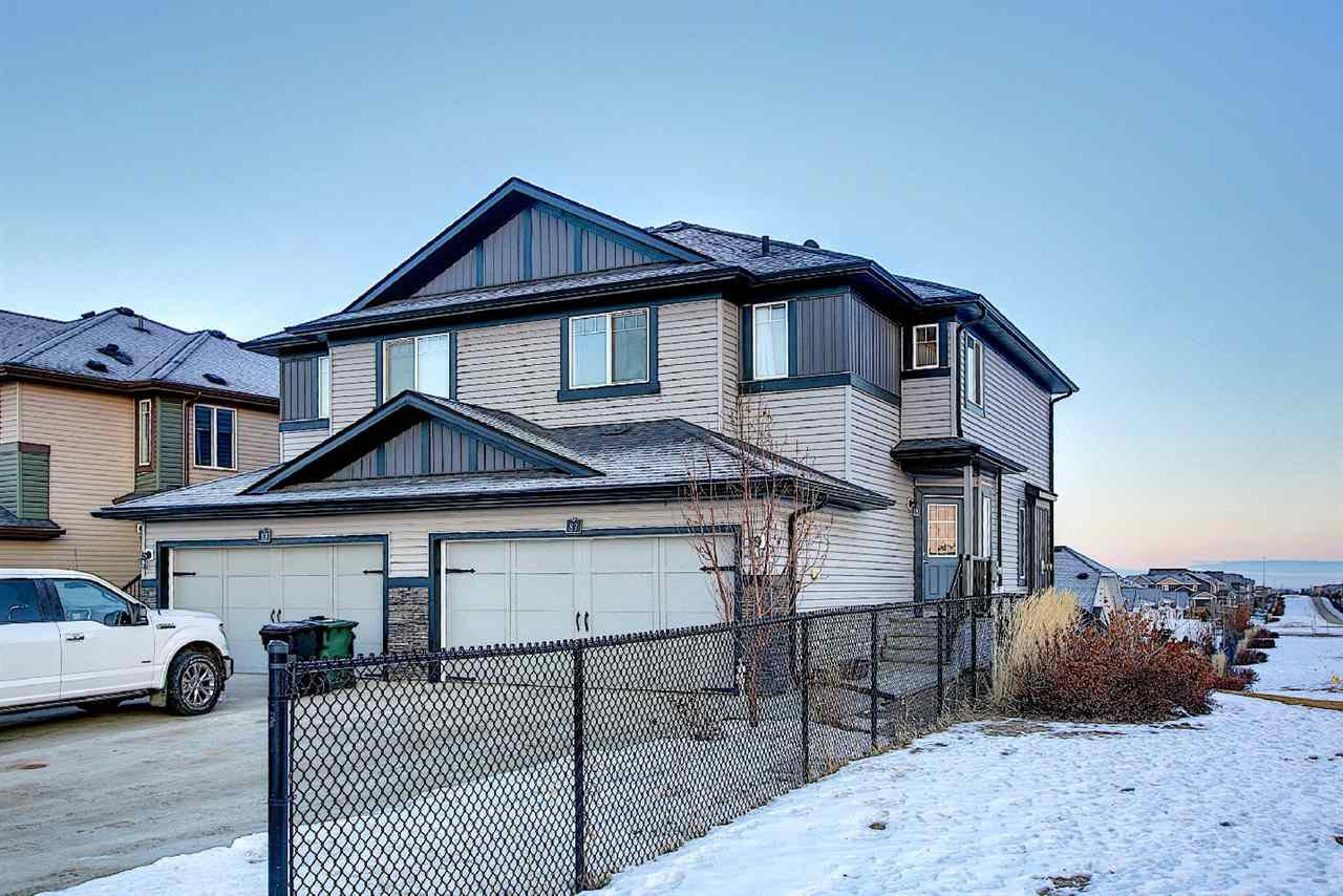 Main Photo: 87 AVEBURY Court: Sherwood Park House Half Duplex for sale : MLS®# E4224618