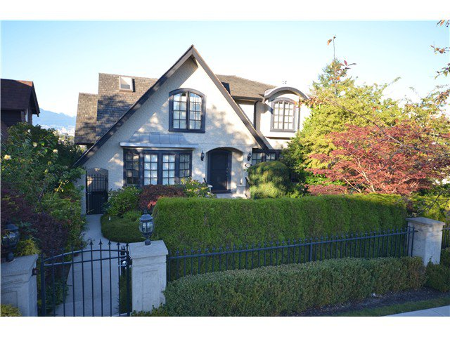 Main Photo: 4318 QUESNEL Drive in Vancouver: Arbutus House for sale (Vancouver West)  : MLS®# V970168