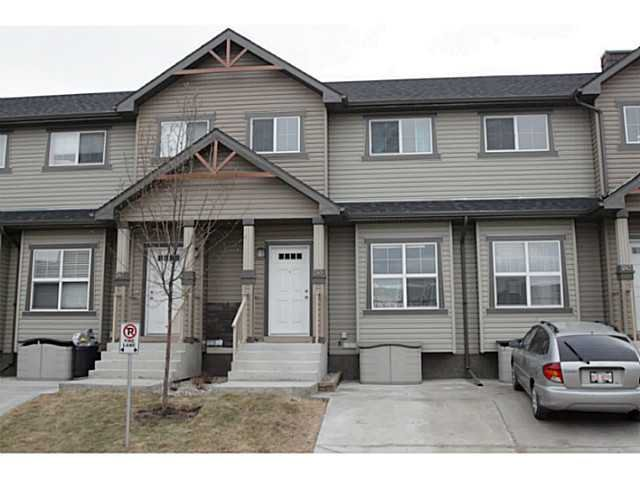 Main Photo: 245 RANCH RIDGE Meadows: Strathmore Townhouse for sale : MLS®# C3615774