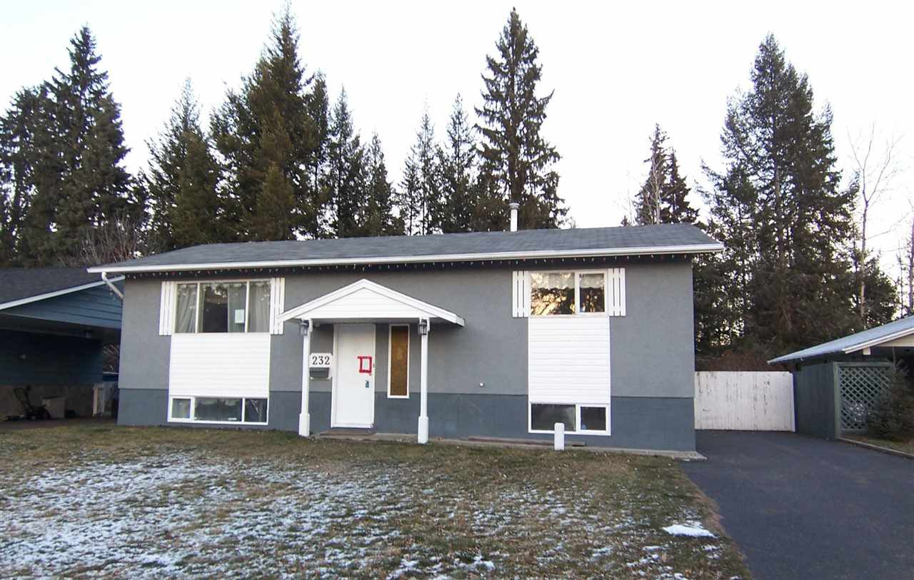 """Main Photo: 232 CLAXTON Crescent in Prince George: Heritage House for sale in """"HERITAGE/MOORE'S MEADOW PARK"""" (PG City West (Zone 71))  : MLS®# R2017539"""