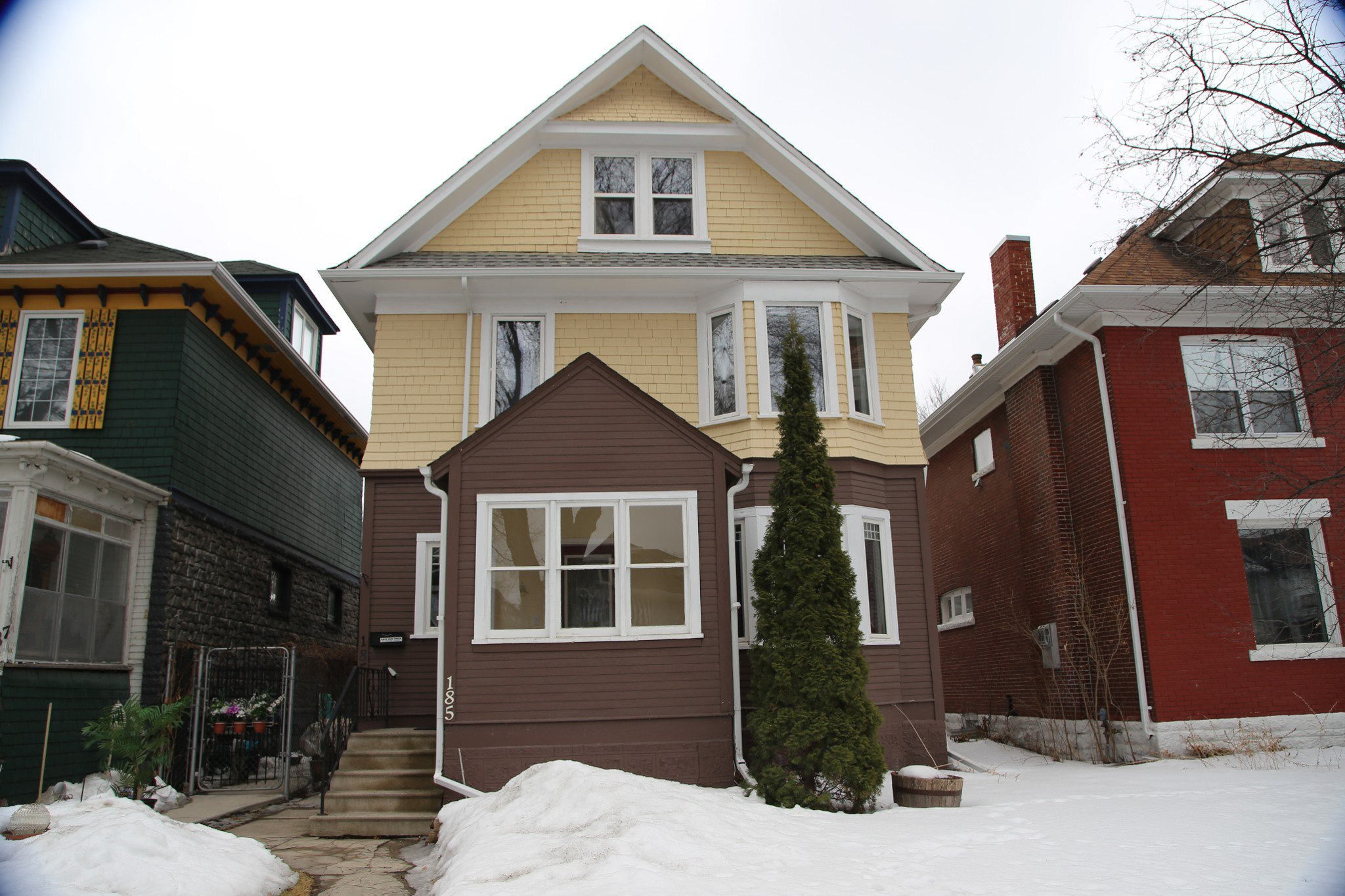 Photo 1: Photos: 185 Home Street in Winnipeg: Wolseley Single Family Detached for sale (5B)  : MLS®# 1807366