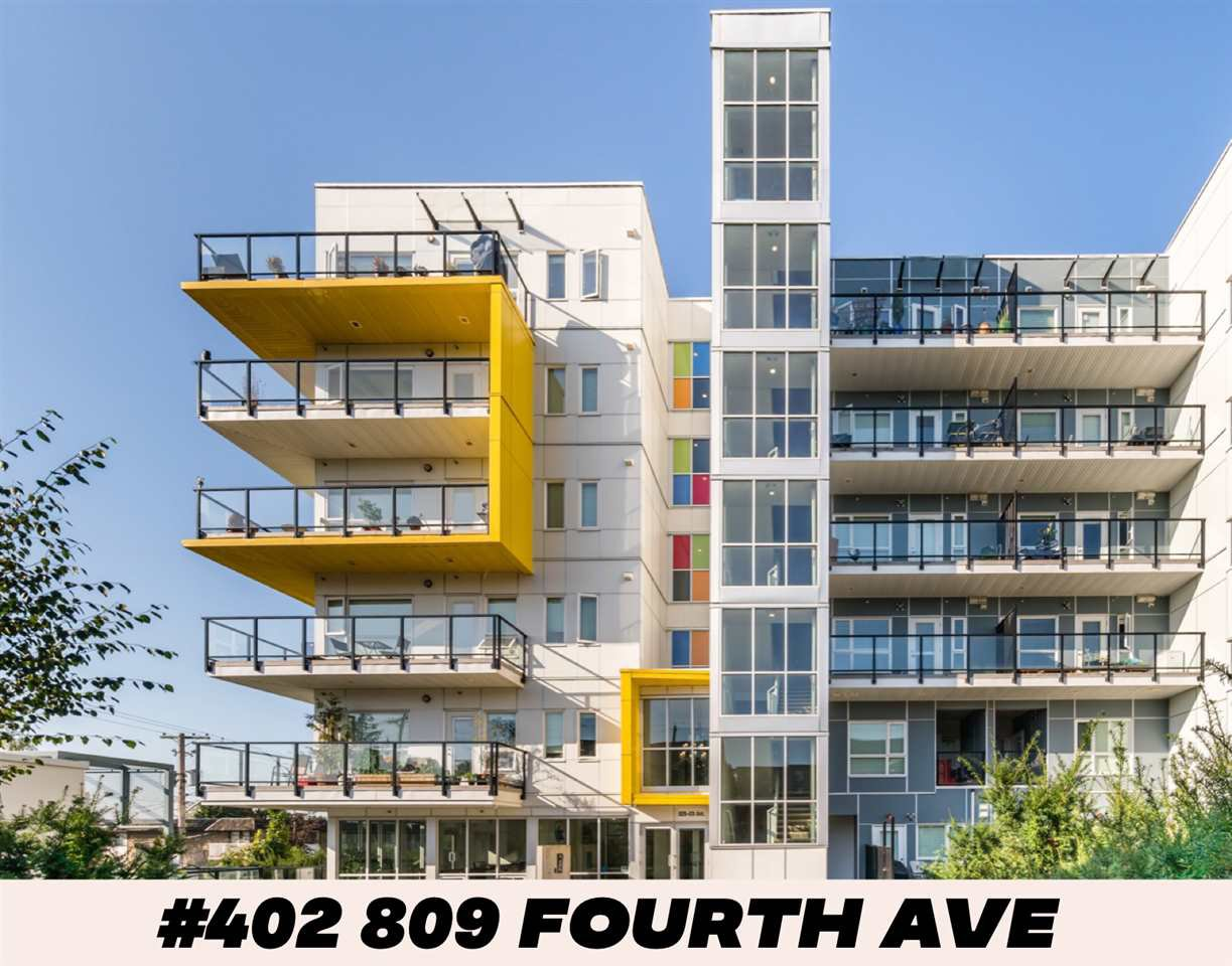 "Main Photo: 402 809 FOURTH Avenue in New Westminster: Uptown NW Condo for sale in ""THE LOTUS"" : MLS®# R2404198"