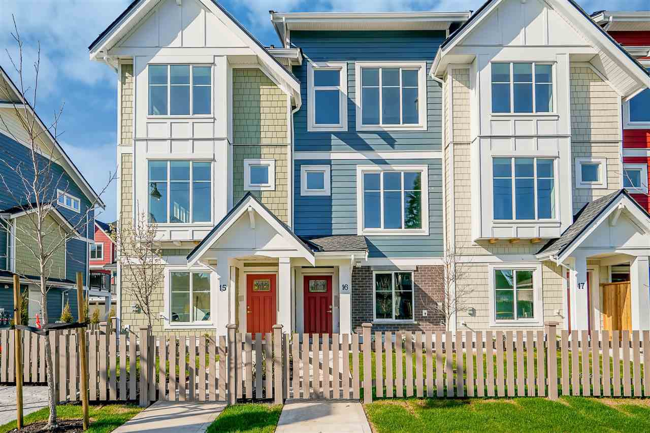 """Main Photo: 17 11528 84A Avenue in Delta: Annieville Townhouse for sale in """"Chalet"""" (N. Delta)  : MLS®# R2470354"""