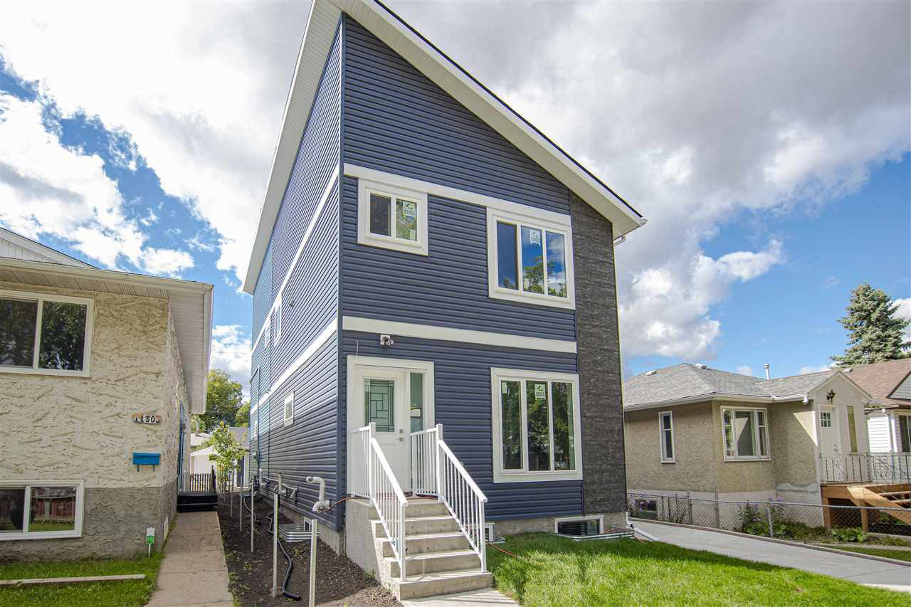 Main Photo: 11810 64 Street NW in Edmonton: Zone 06 Duplex Front and Back for sale : MLS®# E4212133