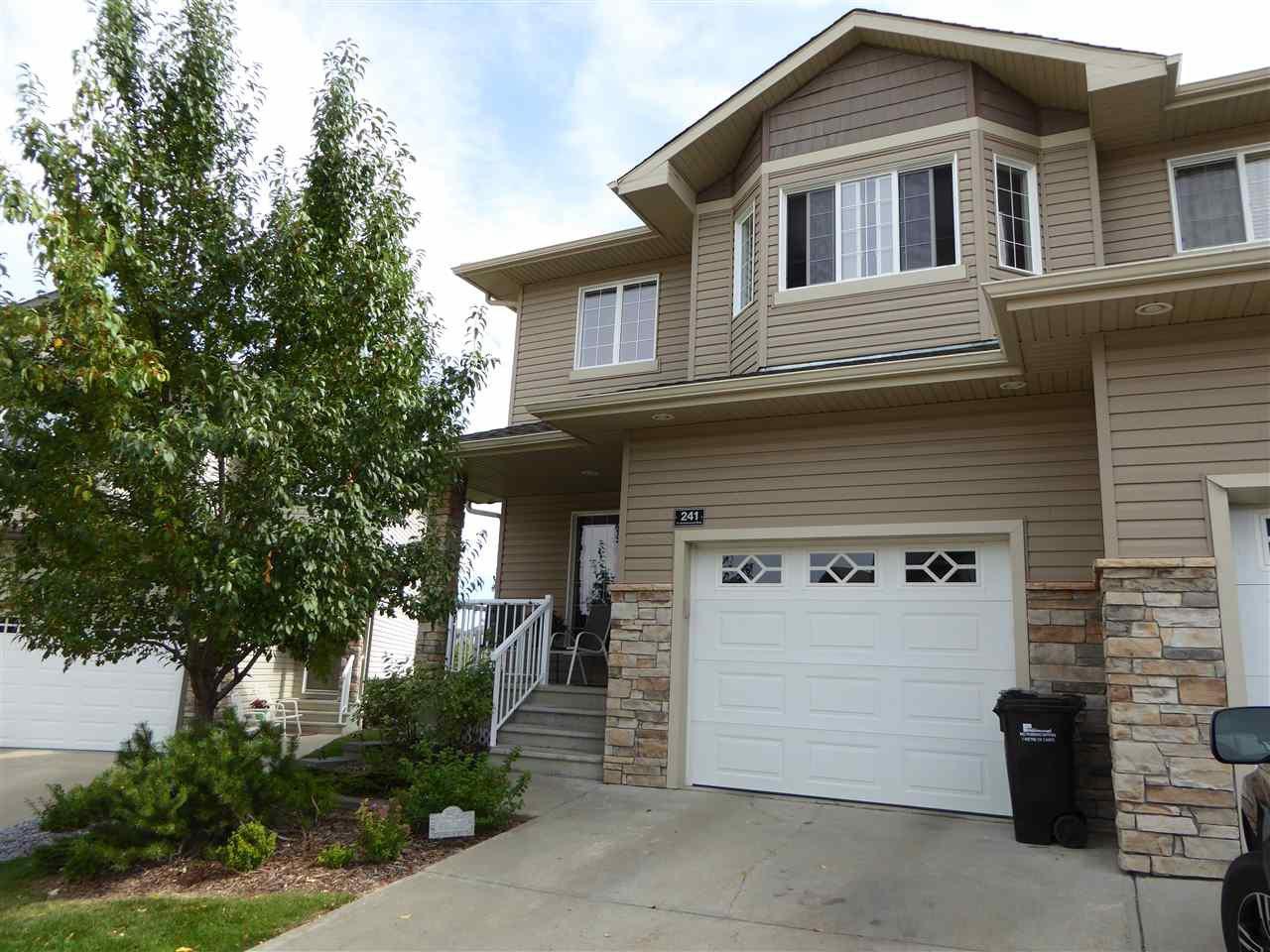 Main Photo: 241 41 SUMMERWOOD Boulevard: Sherwood Park House Half Duplex for sale : MLS®# E4212147