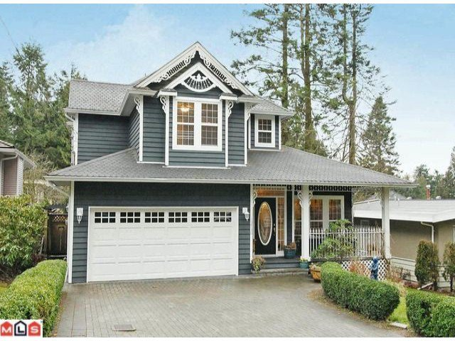 "Main Photo: 12736 15TH Avenue in Surrey: Crescent Bch Ocean Pk. House for sale in ""1001 Steps"" (South Surrey White Rock)  : MLS®# F1103924"