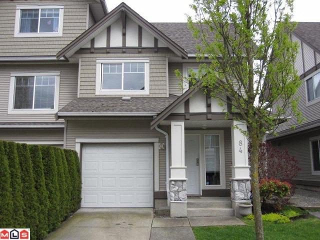 "Main Photo: 84 18221 68TH Avenue in Surrey: Cloverdale BC Townhouse for sale in ""Magnolia"" (Cloverdale)  : MLS®# F1112827"