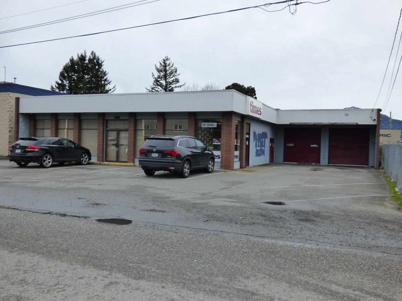 Main Photo: 45951 TRETHEWEY Avenue in Chilliwack: Chilliwack W Young-Well Commercial for sale : MLS®# C8004136