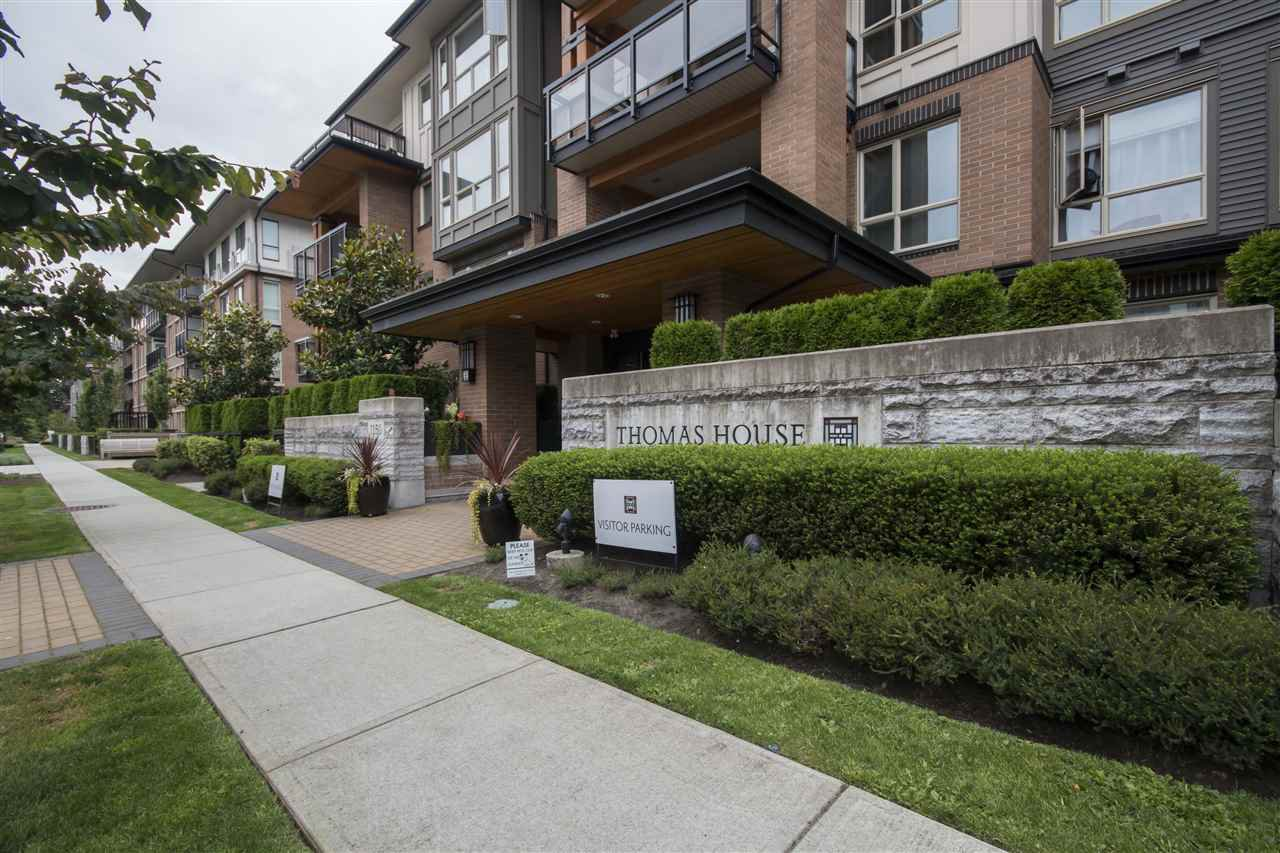 "Main Photo: 409 1150 KENSAL Place in Coquitlam: New Horizons Condo for sale in ""THOMAS HOUSE BY POLYGON"" : MLS®# R2094347"