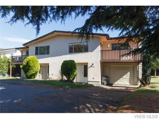 Main Photo:  in VICTORIA: SE Lambrick Park Full Duplex for sale (Saanich East)  : MLS®# 742783
