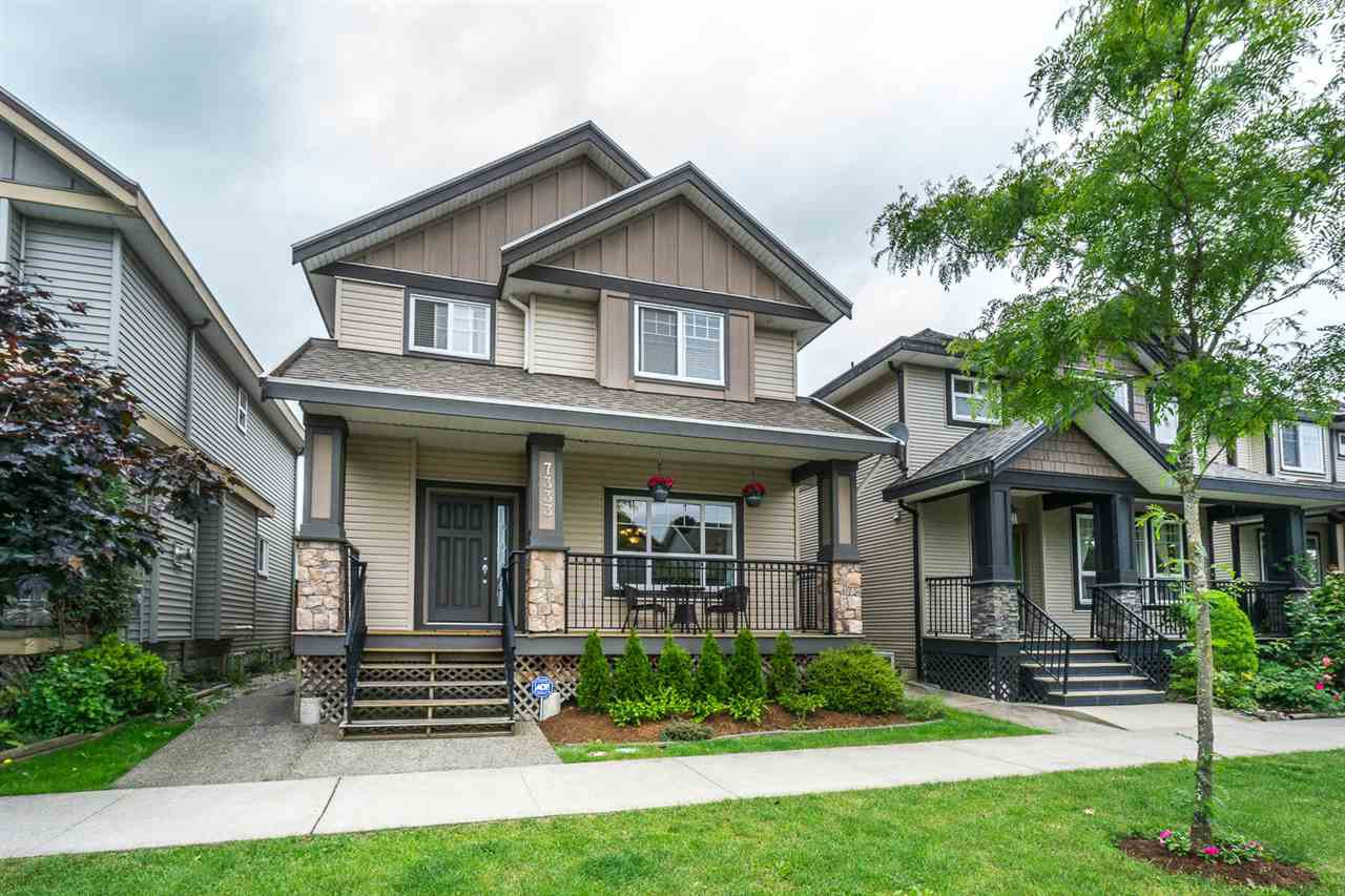"Main Photo: 7333 194 Street in Surrey: Clayton House for sale in ""Clayton"" (Cloverdale)  : MLS®# R2173578"