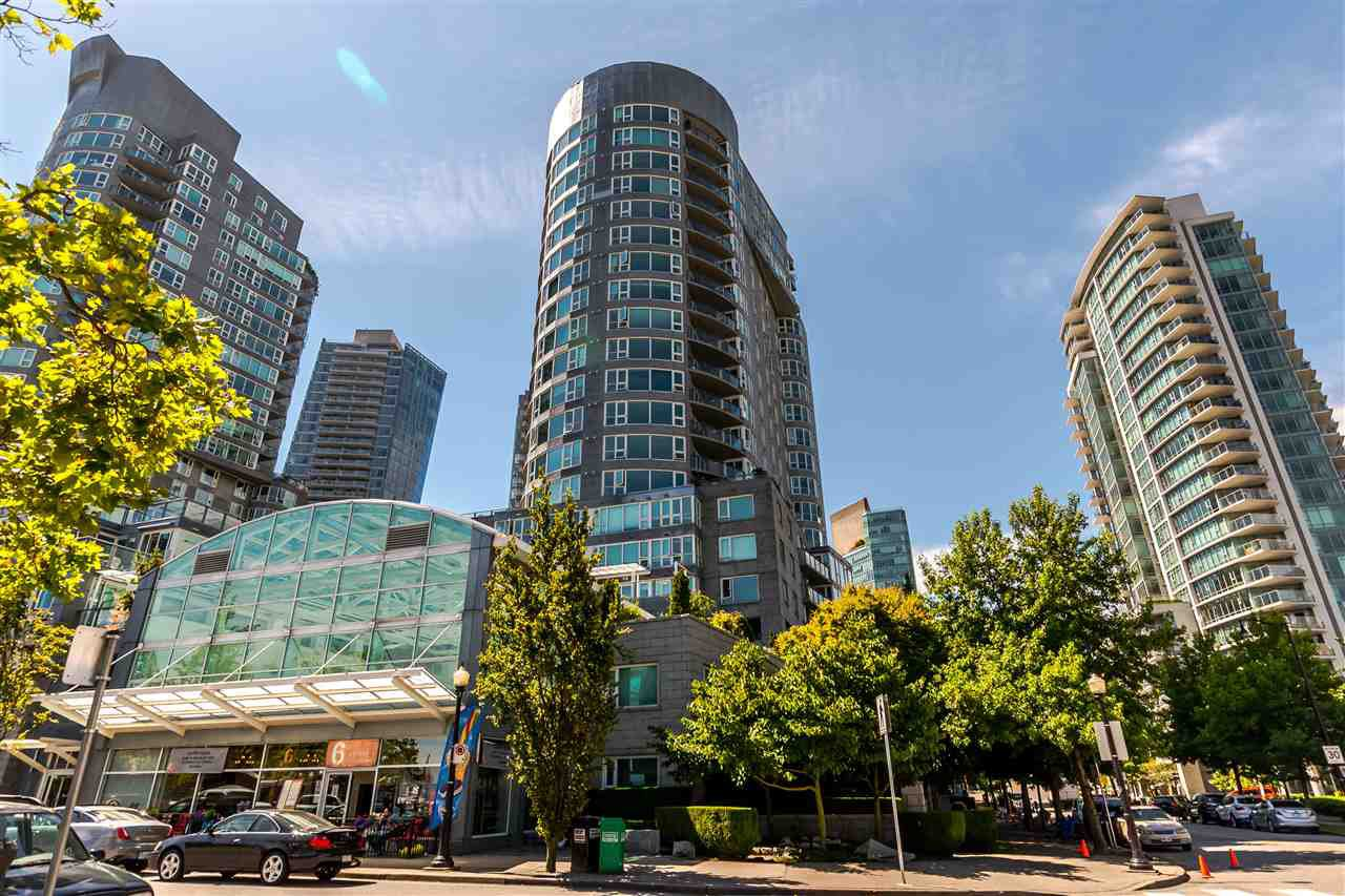 Main Photo: 1005 560 CARDERO STREET in Vancouver: Coal Harbour Condo for sale (Vancouver West)  : MLS®# R2192257