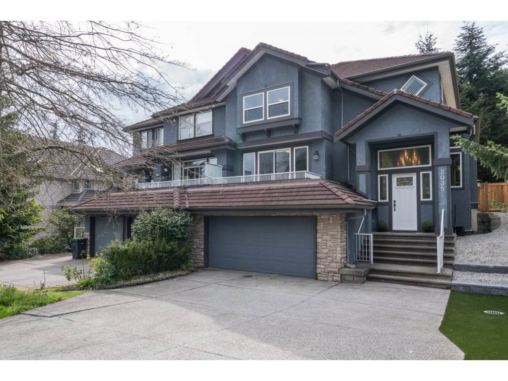 Main Photo: 2035 PARKWAY BOULEVARD in Coquitlam: Westwood Plateau House 1/2 Duplex for sale : MLS®# R2168235