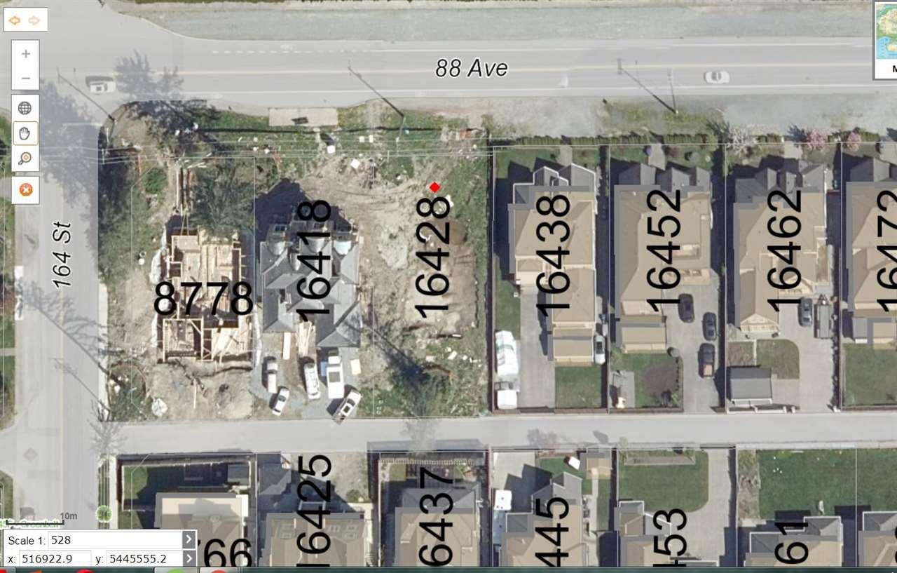 """Main Photo: 16428 88 Avenue in Surrey: Fleetwood Tynehead Land for sale in """"Fleetwood Tynehead"""" : MLS®# R2321996"""