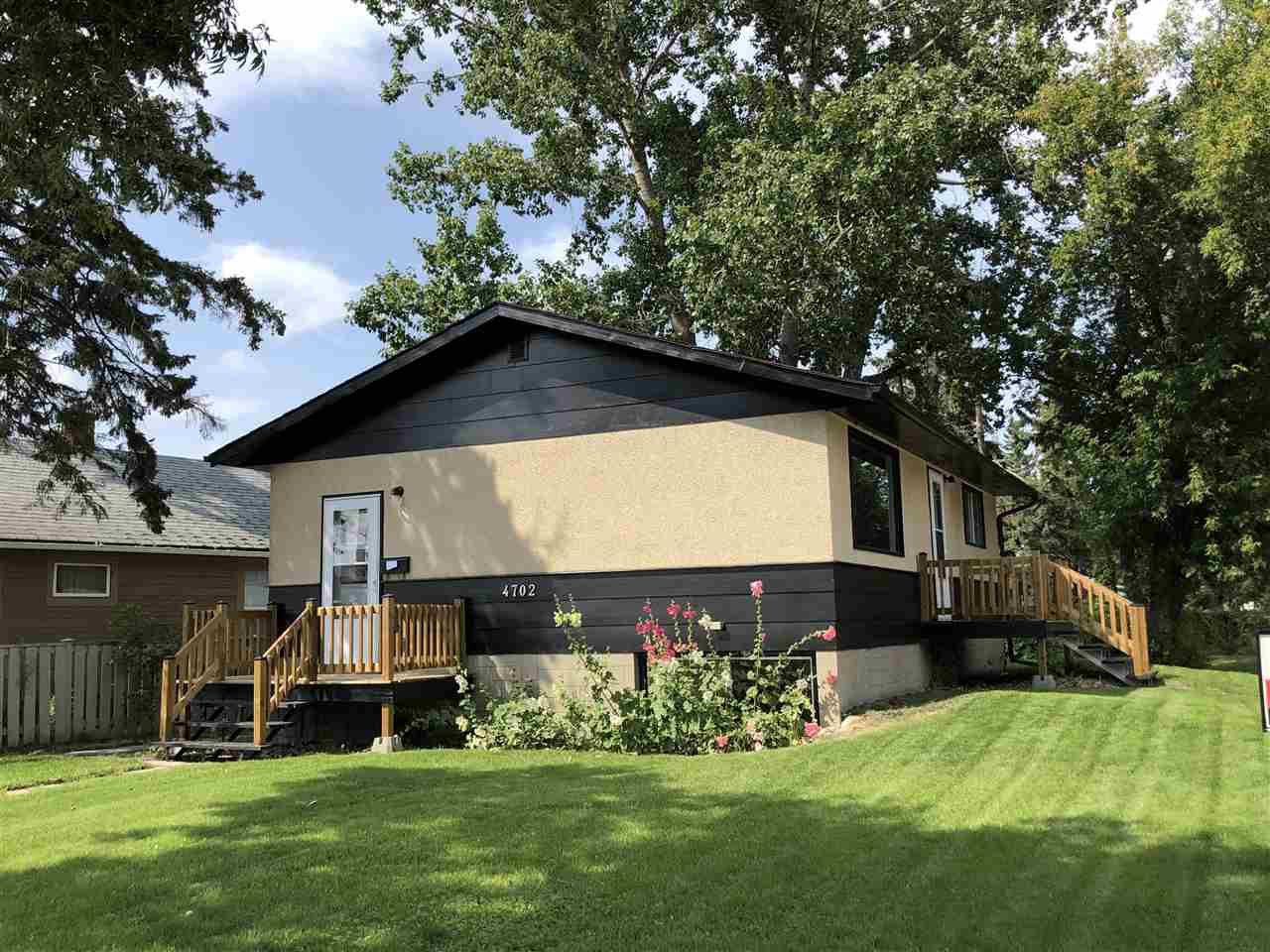 Main Photo: 4702 47 Avenue: Wetaskiwin House for sale : MLS®# E4152672