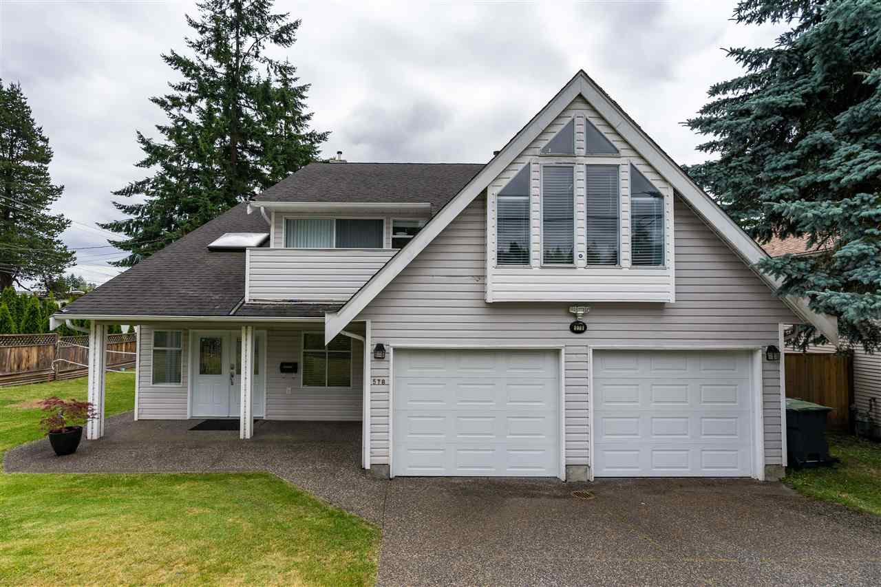 Main Photo: 578 SCHOOLHOUSE Street in Coquitlam: Central Coquitlam House for sale : MLS®# R2381789