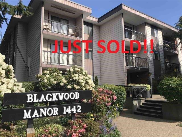 Main Photo: 111 1442 BLACKWOOD STREET: White Rock Condo for sale (South Surrey White Rock)  : MLS®# R2430759