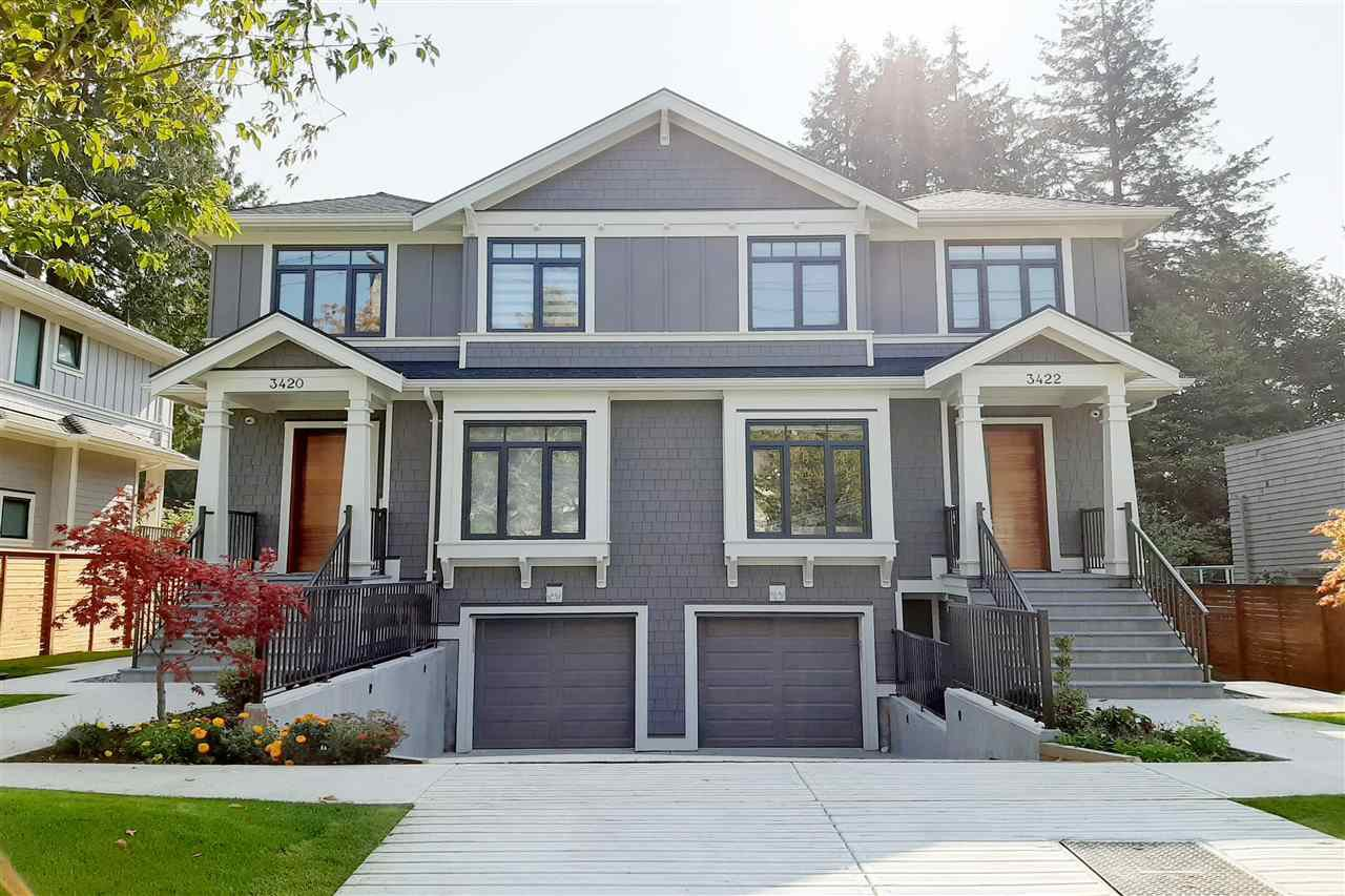Photo 1: Photos: 3420 W 43RD Avenue in Vancouver: Dunbar 1/2 Duplex for sale (Vancouver West)  : MLS®# R2477291
