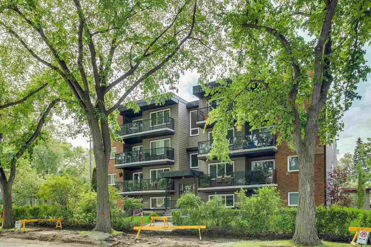 Main Photo: 304 10003 87 Avenue in Edmonton: Zone 15 Condo for sale : MLS®# E4210369