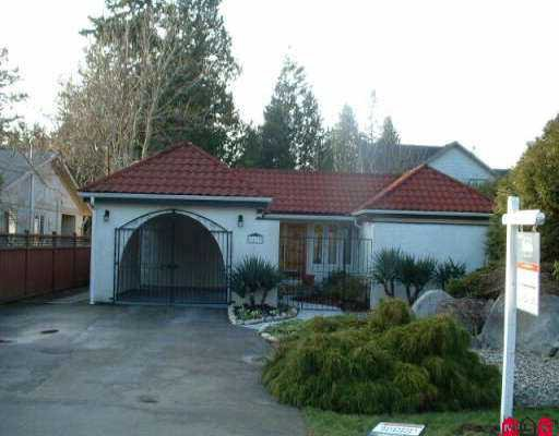 "Main Photo: 2179 124TH ST in White Rock: Crescent Bch Ocean Pk. House for sale in ""Ocean Park"" (South Surrey White Rock)  : MLS®# F2600915"