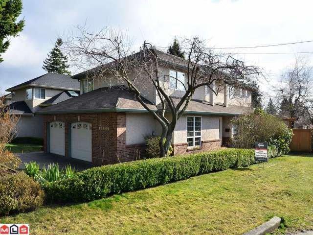 Main Photo: 13940 LAUREL Avenue: White Rock House for sale (South Surrey White Rock)  : MLS®# F1203959