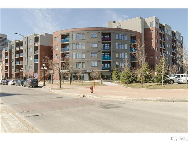 Main Photo: 340 Waterfront Drive in WINNIPEG: Central Winnipeg Condominium for sale : MLS®# 1525255
