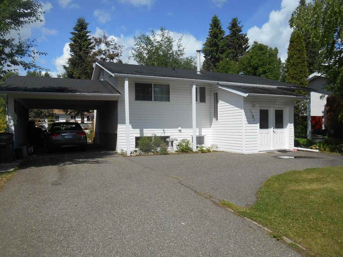 Main Photo: 7783 QUEENS Crescent in Prince George: Lower College House for sale (PG City South (Zone 74))  : MLS®# R2075778