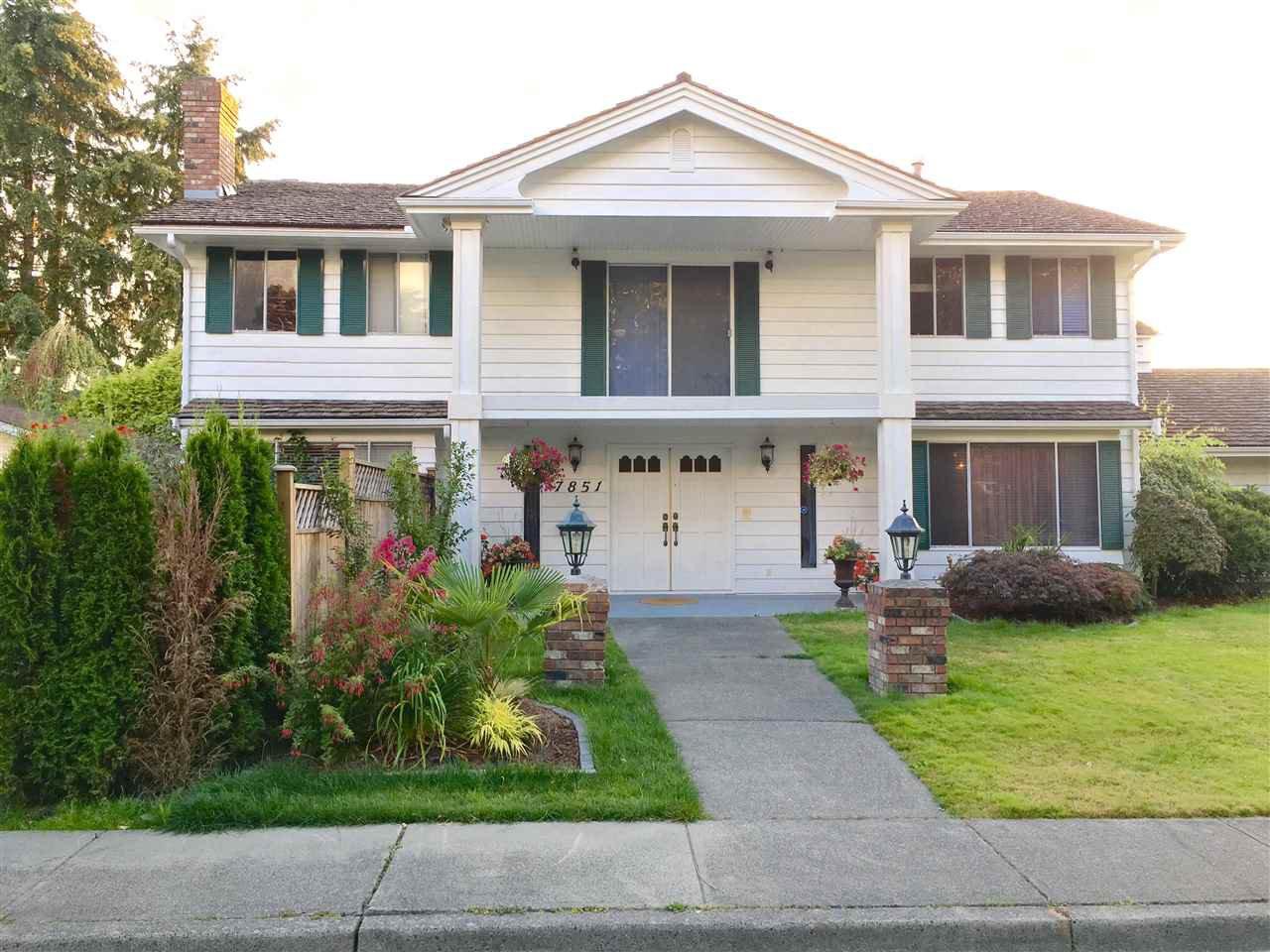 Main Photo: 7851 WATERTON Drive in Richmond: Broadmoor House for sale : MLS®# R2097641